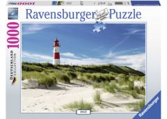 RAVENSBURGER 1000PC JIGSAW PUZZLE LIGHTHOUSE IN SYLT
