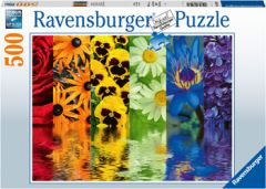 RAVENSBURGER 500PC JIGSAW PUZZLE FLORAL REFLECTIONS