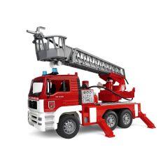 BRUDER FIRE ENGINE W/WATER PUMP & LIGHTS & SOUNDS