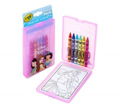 CRAYOLA TRAVEL PACK - DISNEY PRINCESS