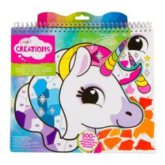 CRAYOLA STICKER BY NUMBER ART SET