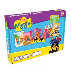 THE WIGGLES MEMORY CARDS