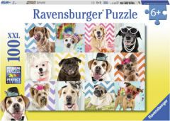 RAVENSBURGER- DOGGY DISGUISE JIGSAW PUZZLE 100PCE