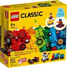LEGO CLASSIC 11014 BRICKS AND WHEELS