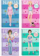 TOP MODEL 3D POCKET DRESS ME UP STICKER BOOK