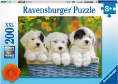 RAVENSBURGER 200PC JIGSAW PUZZLE CUDDLY PUPPIES