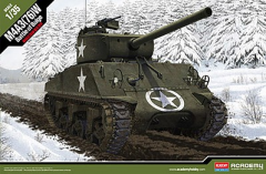 ACADEMY 1:35 M4A3 (76)W BATTLE OF THE BULGE