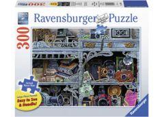 RAVENSBURGER 300PC JIGSAW PUZZLE LARGE FORMAT CAMERA EVOLUTION