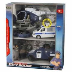 LIGHTS AND SOUNDS POLICE TEAM VEHICLE
