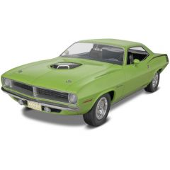 REVELL 1:25 1970 PLYMOUTH HEMT CUDA 2 IN 1
