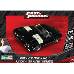 REVELL 1:24 DOM'S '71 PLYMOUTH GTX