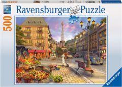 RAVENSBURGER 500PC JIGSAW PUZZLE AN EVENING WALK IN PARIS