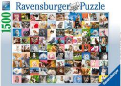 RAVENSBURGER 1500PC JIGSAW PUZZLE 99 CATS