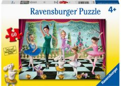 RAVENSBURGER 60PC JIGSAW PUZZLE BALLET REHERSAL