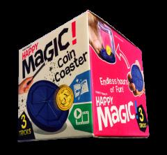 HAPPY MAGIC MINI TRICK BOX - COIN COASTER