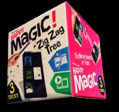 HAPPY MAGIC MINI TRICK BOX - ZIG ZAG TREE