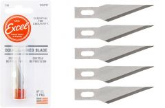 EXCEL DOUBLE HONED BLADE 5PC
