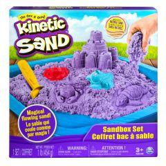 KINETIC SAND SANDBOX SET PURPLE (454g)
