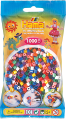 HAMA BEAD 1000 PIECE BAG