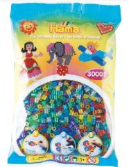 HAMA BEAD BAGS APPROX 1000 BEADS - GLITTER