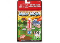 MELISSA AND DOUG WATER WOW ON THE FARM WATER REVEAL PAD