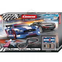 CARRERA EVOLUTION BREAK AWAY SLOT CAR SET