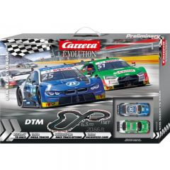CARRERA EVOLUTION DTM READY TO ROAR SLOT CAR SET
