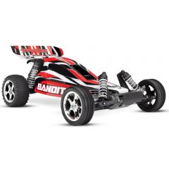 TRAXXAS R/C BANDIT EXTREME SPORTS BUGGY RED
