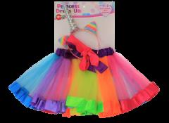 UNICORN DRESS UP WITH RAINBOW SKIRT