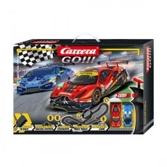 CARRERA GO!! RACE THE TRACK SLOT CAR SET
