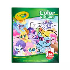 CRAYOLA COLOR AND STICKER MY LITTLE PONY