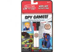 MELISSA AND DOUG ON THE GO WIPE OFF ACTIVITY PAD SPY GAMES