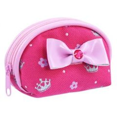 PINK POPPY SWEETNESS & CHARMS COIN PURSE HOT PINK