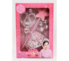 MIRACLE DREAM TIARA SET WITH WAND & ACCESSORIES