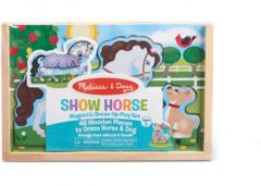 MELISSA AND DOUG MAGNETIC DRESS UP PLAY SET 46 PIECE SHOW HORSE