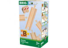 BRIO WORLD WOODEN STARTER TRACK PACK
