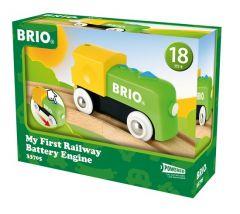 BRIO WORLD MY FIRST RAILWAY BATTERY ENGINE
