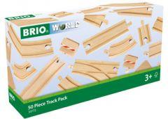 BRIO WORLD 50 PIECE TRACK PACK