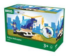 BRIO WORLD POLICE HELICOPTER 3 PIECE
