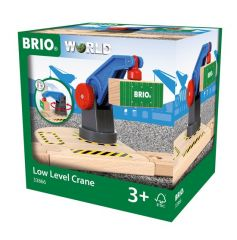 BRIO WORLD LOW LEVEL CRANE