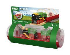 BRIO WORLD STEAM TRAIN AND TUNNEL