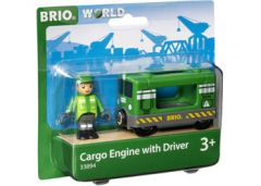 BRIO WORLD CARGO ENGINE WITH DRIVER
