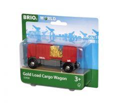 BRIO WORLD GOLD LOAD CARGO WAGON
