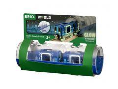 BRIO WORLD METRO TRAIN AND TUNNEL SET