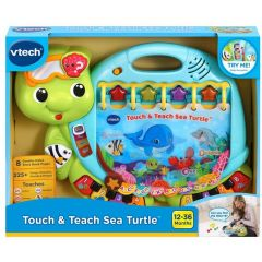 VTECH TOUCH AND TEACH SEA TURTLE