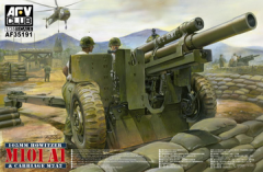 AFV CLUB 1:35 105MM HOWITZER M101A1 & CARRIAGE M2A3