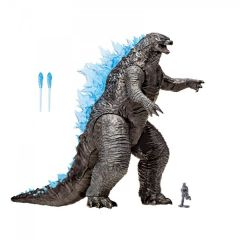 "GODZILLA VS KONG MONSTERVERSE 13"" MEGA HEAT RAY GODZILLA WITH LIGHTS & SOUNDS"