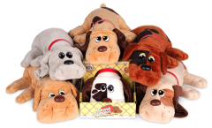 POUND PUPPIES CLASSIC WHITE AND CHOCOLATE``