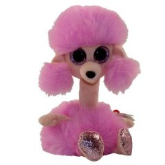 TY BEANIE BOOS CAMILLA POODLE LONG NECK