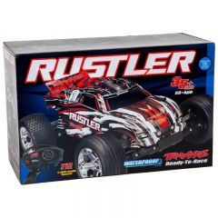TRAXXAS RUSTLER STADIUM TRUCK RTR W/XL-5 ESC BLUE